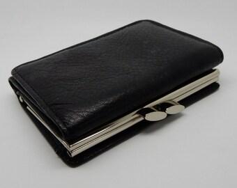 A Lovely Vintage Black Purse,good condition, Retro,Boho