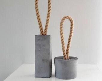 Concrete door stopper | concrete home decoration | gifts for home | modern decor | minimalist gift idea