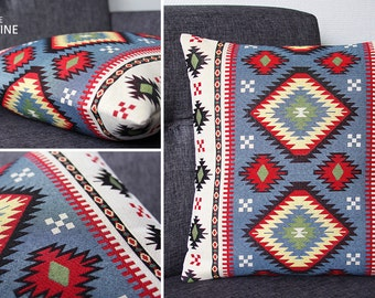 Cushion cover - Collection INCAS - 15.75x15.75 in