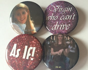 Clueless pin pack