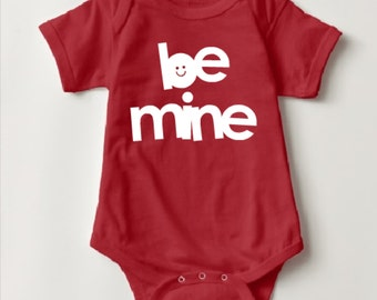 Be Mine Bodysuit and T-Shirt