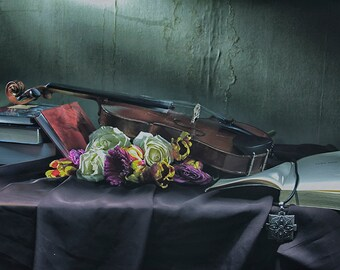 Still Life Photography-Still life art-Print-Classic art-Original photography-Home decor-Wall art