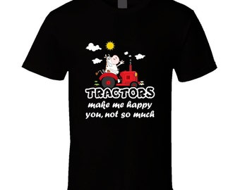 Tractor Driver t-shirt. Tractor tshirt for him or her. Tractor Driver tee as Tractor idea gift. Great Tractor Driver gift with Tractor shirt