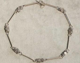 Sterling Silver Necklace by Allison Stern ~ Vintage 1996