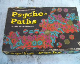 Vintage 1969 Psyche-Paths No. 805 - Funtastic Division of KMS Industries, Inc.