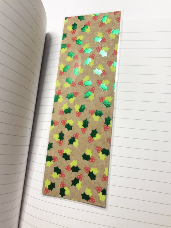 Christmas Laminated Bookmark