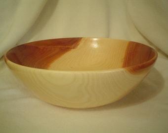 Native Kansas Eastern Red Cedar Wood Bowl