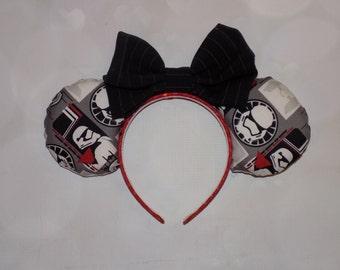 Dark Side Star wars Stormtrooper ears