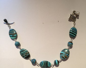 Handcrafted Turkey Turquoise Bracelet
