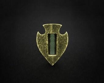 Glowing Roman Arrowhead, Roman Earrings, Roman Studs, Ancient Jewelry, Tribal Piercing, Roman Jewellery, Stud, Roman Jewelry