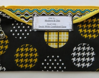 Persette #45 Personalized Zippered Organizing Pouch