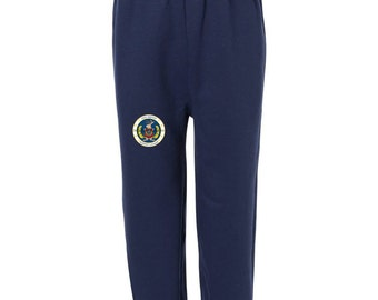 Odd Squad Logo with/without a Name on Navy Sweatpants