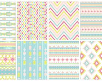 Aztec Pastel Kit (planner stickers)