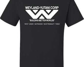 Weyland-Yutani Corp Aliens Movie SHIRT