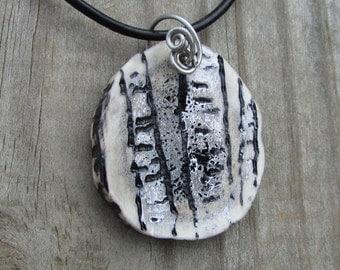Birch Tree Necklace, Birch Tree Jewelry, Tree Necklace, Tree Jewelry, Birch Tree Art, Birch Tree, White Tree Necklace, Birch Tree Pendant