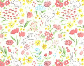 Sommer by Sarah Jane Collection | Michael Miller | Bloom Garden | # DC7054-BLOM | By the yard