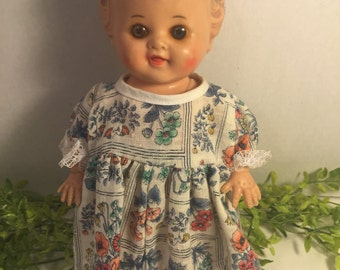 1956 Vintage Doll from Tod-L-Dee The Sun Rubber Co Barberton O USA Baby Doll
