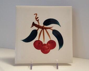 Stangl Fruit 6'' Tile #3697