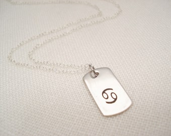 Sterling silver Zodiac necklace...Personalized Engraved Bar, sorority, best friend gift, wedding, bridesmaid gift