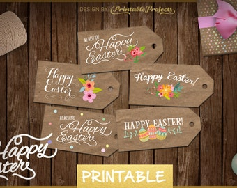 EASTER LABELS printable, easter gift tags, easter tag, easter eggs, easter 2016, easter basket ideas, easter gift card,cute gifts for easter
