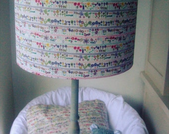 Liberty Tana Lawn - Jolie Rose Handmade Childrens Lampshade