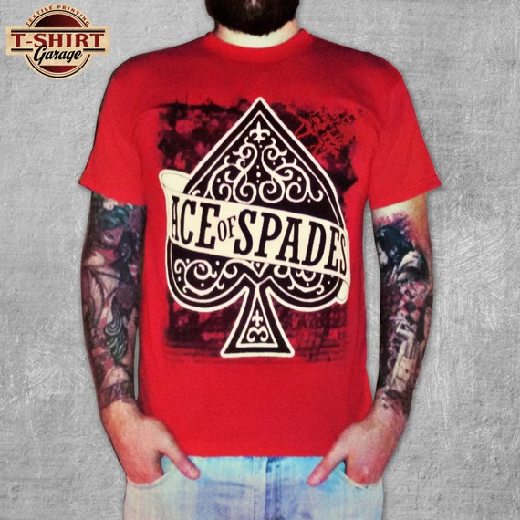 mot rhead ace of spades t shirt. Black Bedroom Furniture Sets. Home Design Ideas