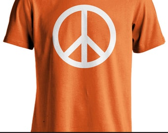 """Adult T-shirt: """"Peace Sign"""""""