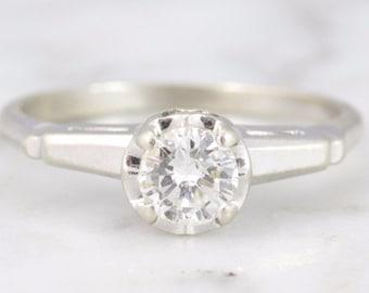 Marni 0.46 ct Vintage Engagement Ring