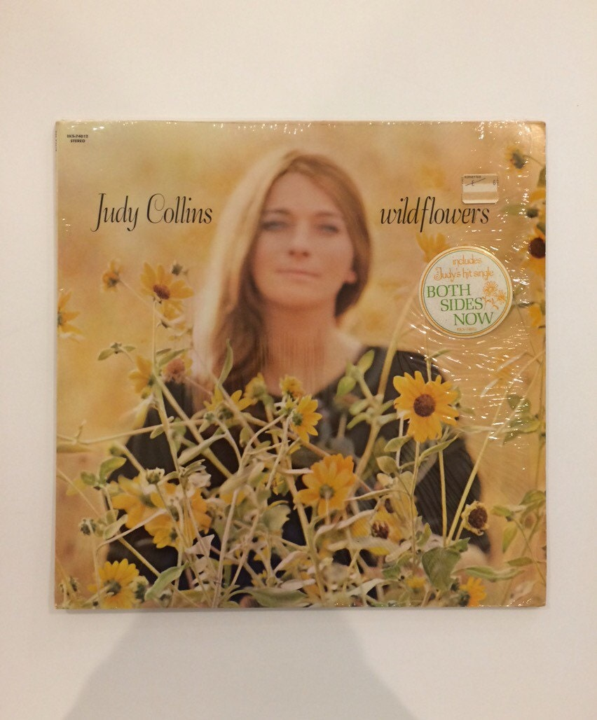 Judy Collins Wildflowers Vinyl Record Album Lp 1967
