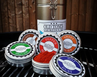 "3 or 5 Gift Set ""The BBQ Collection"" Meat Rubs"