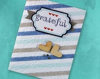 Gratetful - Greeting Card