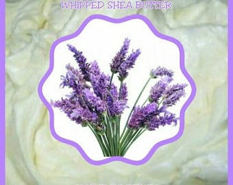 French Lavender Whipped Shea Butter