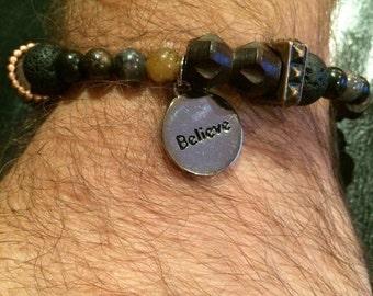 Men's Charm Bracelet