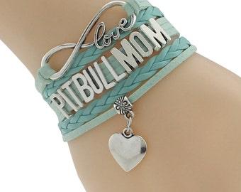 I Love My Pit Bull (Light Blue)