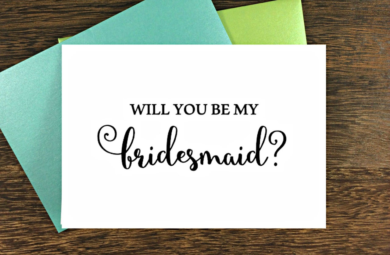 will you be my bridesmaid cards wedding cards bridesmaid. Black Bedroom Furniture Sets. Home Design Ideas