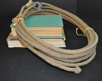 Lasso Larriet Rope Old Used