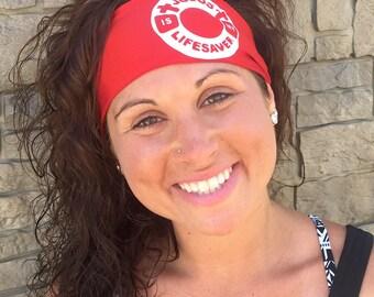 Jesus Is My Lifesaver Headband - StayBand