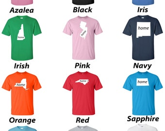 All 50 Home State T-Shirts