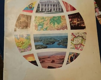 Hammond Headline World Atlas 1978/Maps/Decorative/Craft Project