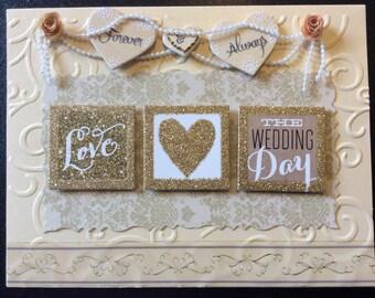 Homemade Card - Love.... The Wedding Day