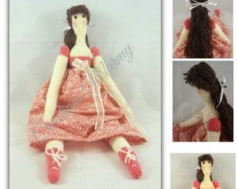 Tilda doll , Tilda au crochet