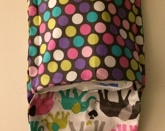 Diaper and Wipes Case, Diaper Bag, Nappy Case, Diaper Carrier, Baby Boy, Baby Girl, Baby Shower Gift.