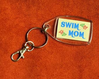 Swim Mom Keychain