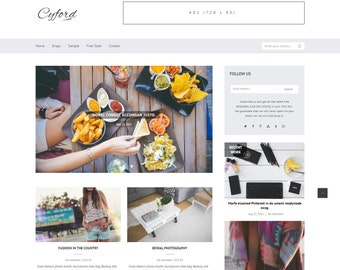 Cyford - Blogger Theme For Your Online Project.
