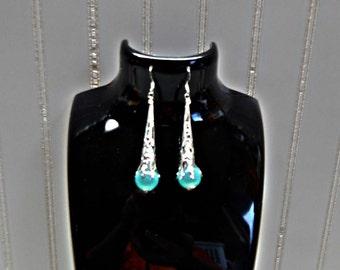 Dangle Earring, Fashion earrings, Bugle earrings