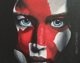 Katniss Everdeen Mockingjay Part 2 Painting