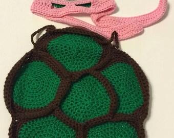 Crochet Ninja Turtle Costume