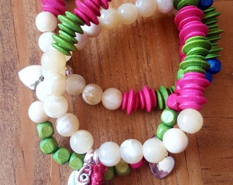 Festival Colourful Bracelet Bundle