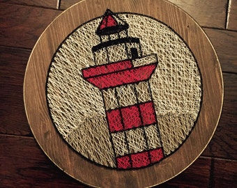 Lighthouse String Art - Sea Pines Resort (Hilton Head)