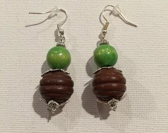 Pearl Brown & Green